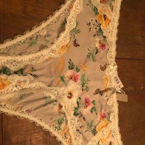 Floral panties